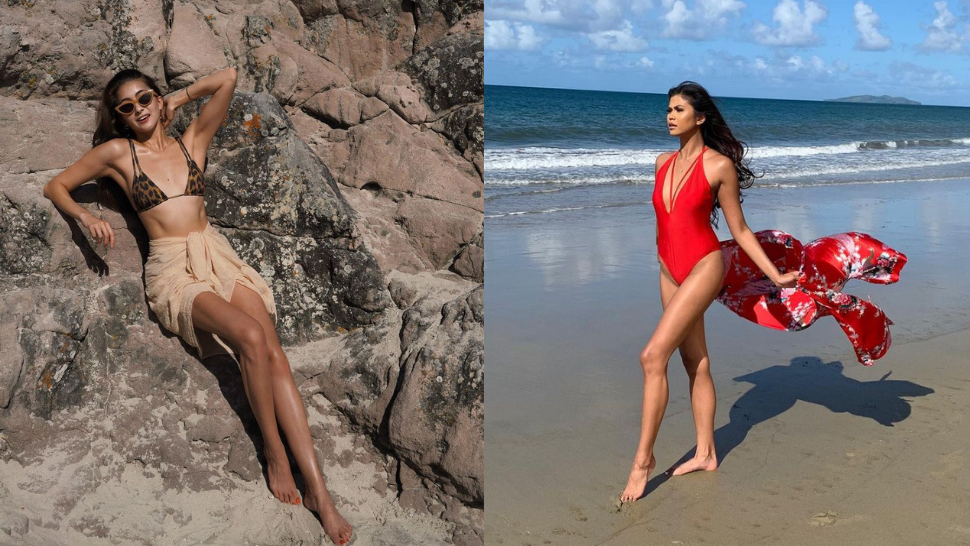 10 Stylish And Sultry Swimsuit Ootds We're Copying From The Miss Universe Philippines 2021 Candidates