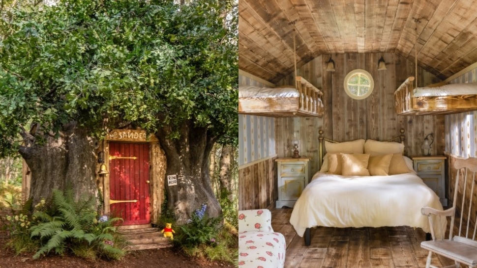 You Can Now Book a Stay at Airbnb's Winnie the Pooh's Treehouse in the Hundred Acre Wood