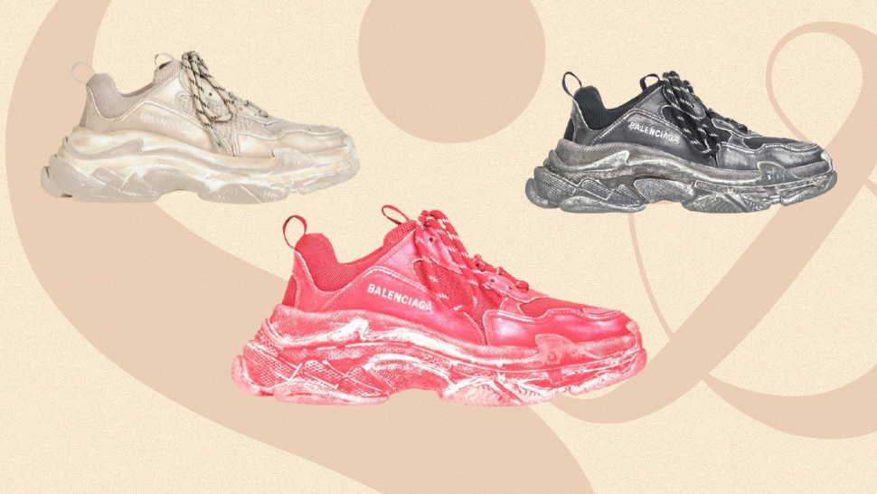 """Would You Buy the Balenciaga Triple S Sneakers in a """"Raw Meat"""" Colorway for Over P50,000?"""
