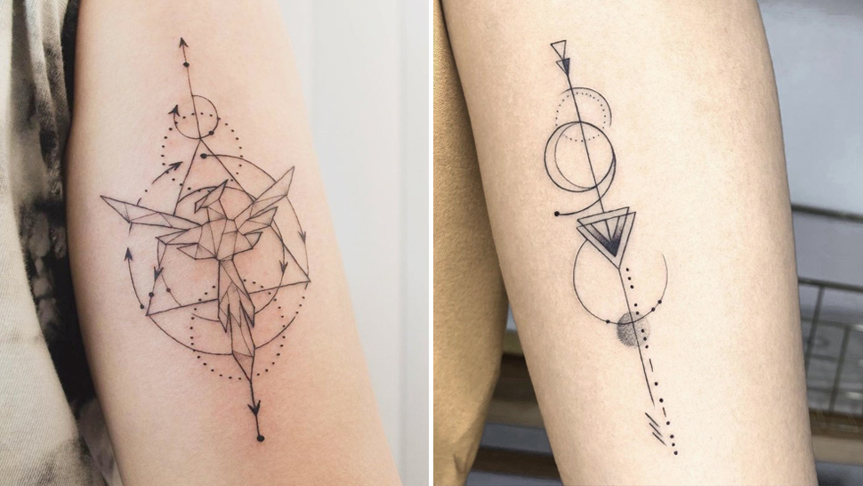 10 Intricate Geometric Tattoo Designs That'll Make You Want A Larger Ink