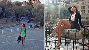 Maggie Wilson Only Brought One Pair Of Sneakers To Europe But Her Travel Ootds Are Gorgeous