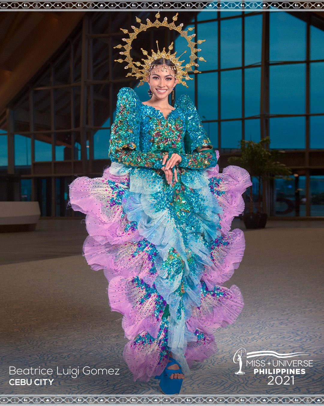 BEATRICE LUIGI GOMEZ- 10 OF THE BEST NATIONAL COSTUMES TO WALK THE MISS UNIVERSE PHILIPPINES 2021 STAGE