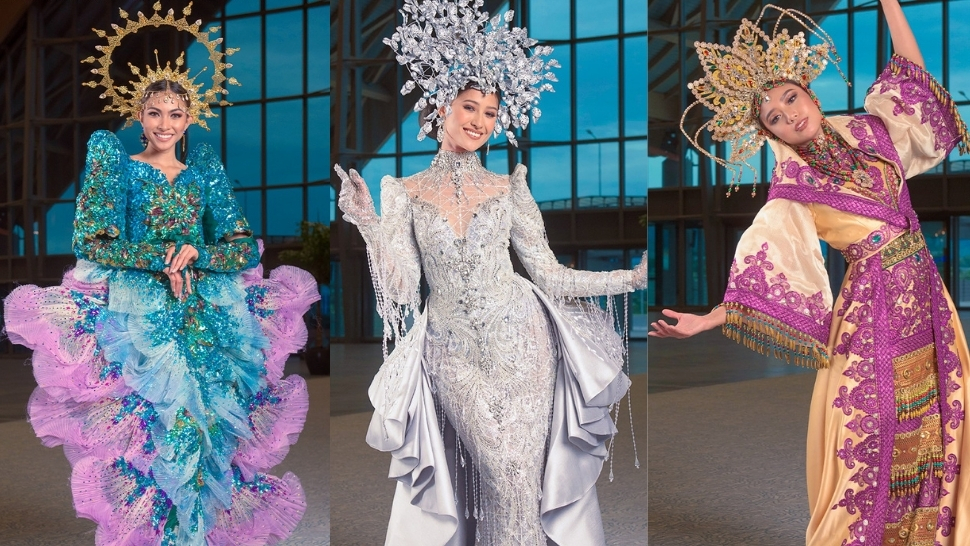12 Of The Most Show-stopping National Costumes At Miss Universe Philippines 2021