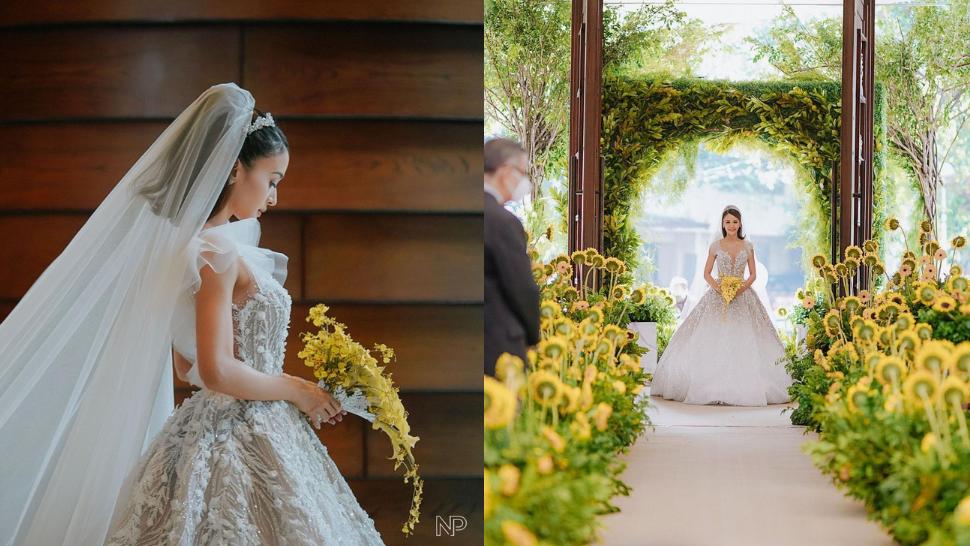 Here's The Real Meaning Behind Kris Bernal's Wedding Flowers
