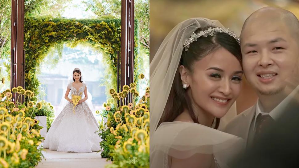 Kris Bernal Looked Every Bit Like A Princess For Her Sunflower-filled Church Wedding