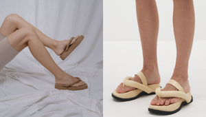 10 Chic Pairs Of Neutral Slippers That'll Upgrade Any Casual Ootd