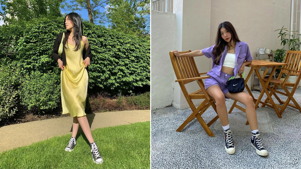 The Black High Top Converse Is Back and Here's How Your Fave Celebs Are Styling It