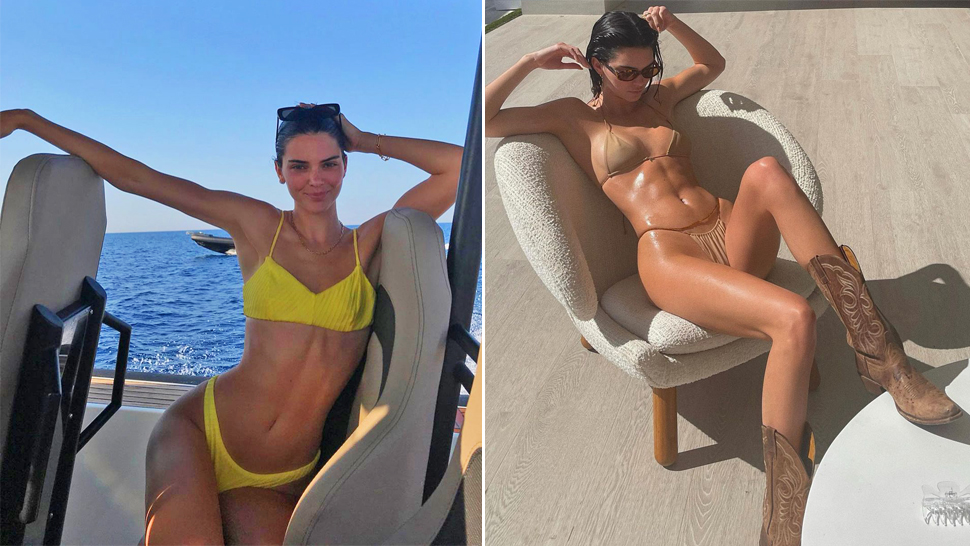 10 Aesthetic and Sultry Swimsuit Poses Perfect for Instagram, As Seen on Kendall Jenner