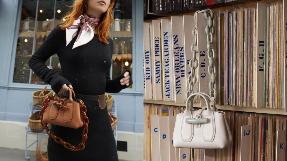 You'll Want to Shop All the Chic Structured Bags from Longchamp's FW 2021 Collection