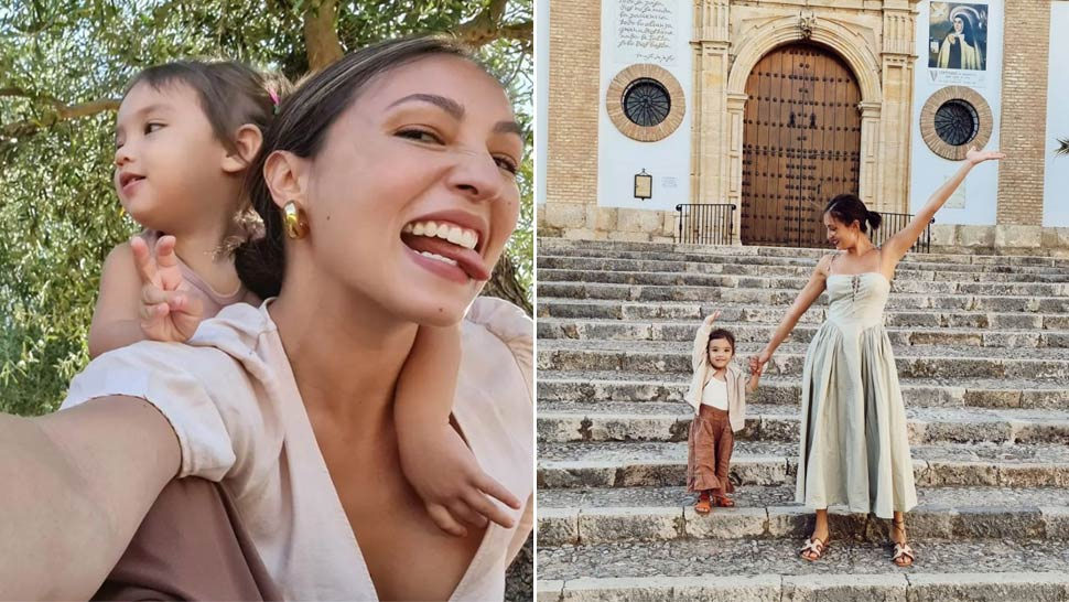 Solenn Heussaff and Her Daughter Thylane Bolzico Have the Cutest Matching OOTDs in Spain