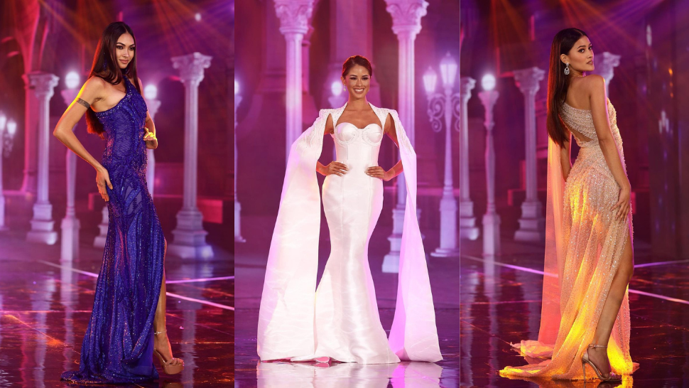 All The Gorgeous Gowns Worn By The Miss Universe Philippines 2021 Top 10
