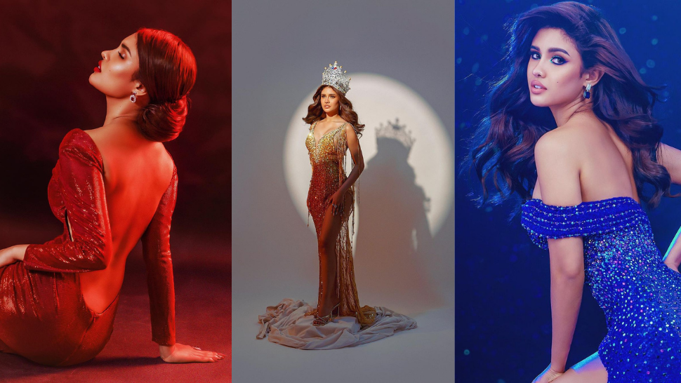 Rabiya Mateo Wore Philippine Flag Colors In Her Glamorous Final Photoshoot As Miss Universe Philippines