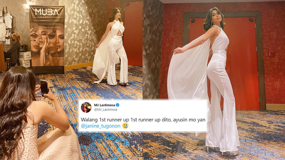 The Internet Can't Get Over Mj Lastimosa Making Other Beauty Queens Take Her Ootds