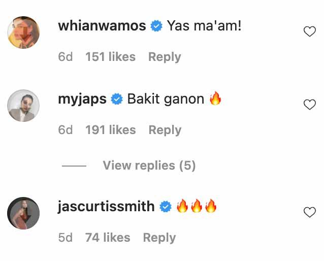 celebrities react to gabbi garcia's bikini post