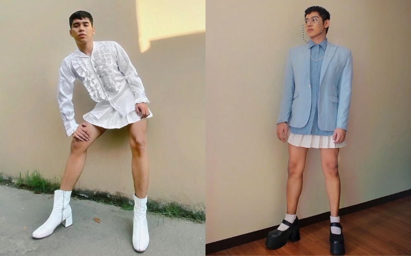 This Influencer Is Proof That Skirts Aren't Just For Girls And We're Obsessed