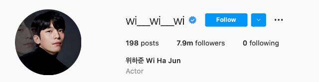 squid game cast instagram follower count