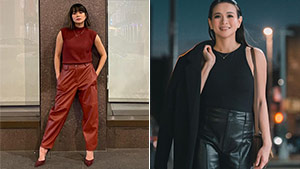Lj Reyes Is Living Her Best Life In New York And Her Stylish Ootds Are Proof