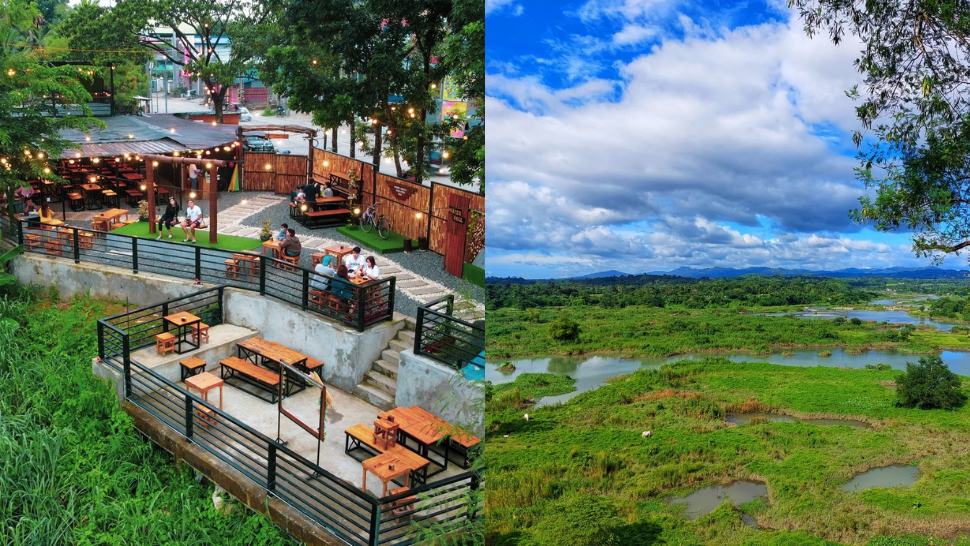 This Outdoor Café in Bulacan Overlooks Angat River and the Sierra Madre Mountain Range