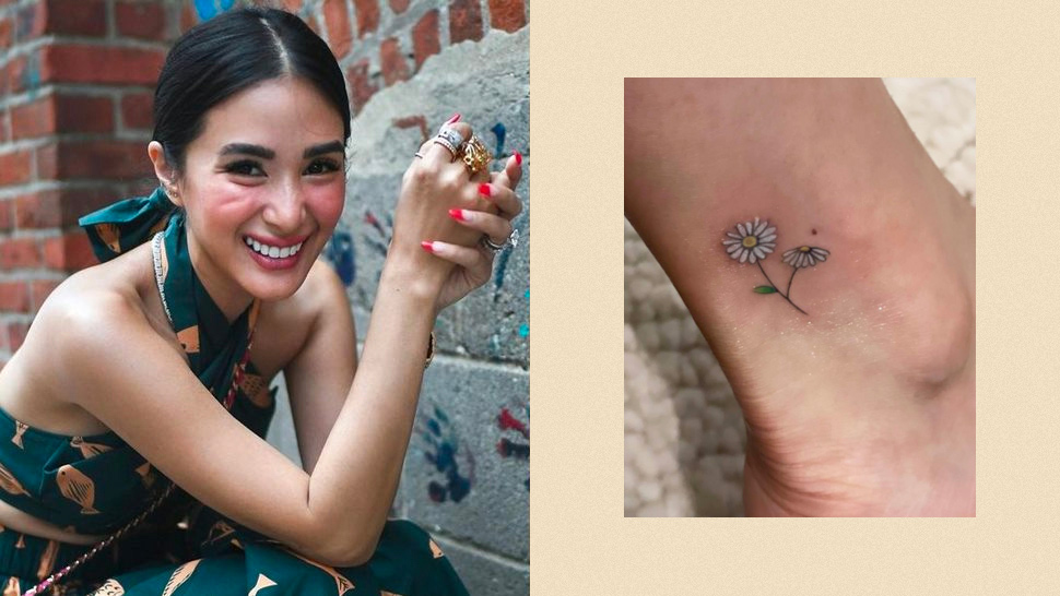 These Are The Hidden Meanings Behind Heart Evangelista's New Tattoos
