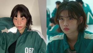 Celebrities Can't Get Over Rhea Bue Recreating Jung Ho Yeon's Look In