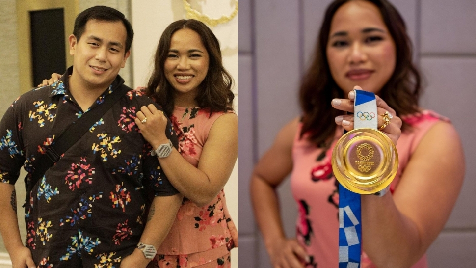 Omg! Hidilyn Diaz Just Got Engaged And Her Ring Features A Stunning Gold Barbell