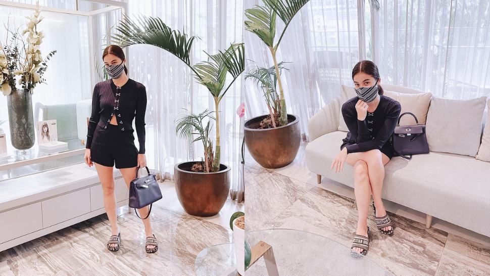 We're Obsessed With Anne Curtis' Head-to-toe Black Designer Ootd At The Derma