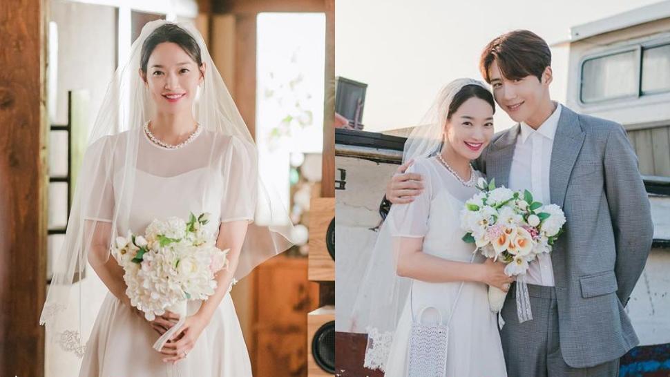 "The Exact Wedding Dress Shin Min Ah Wore In ""hometown Cha-cha-cha"""