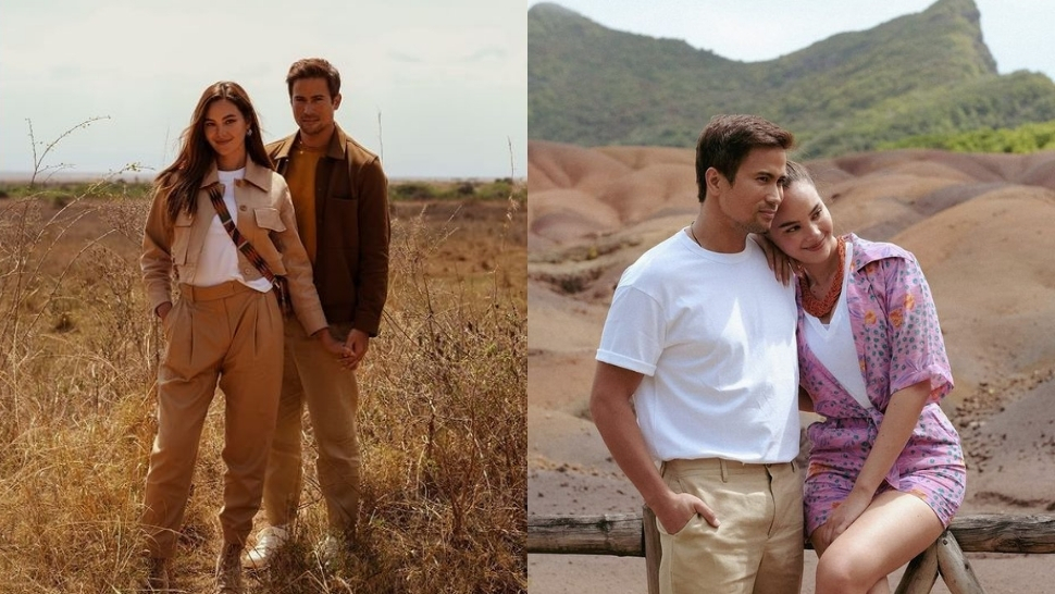 We Love Catriona Gray And Sam Milby's Matching Ootds In Africa