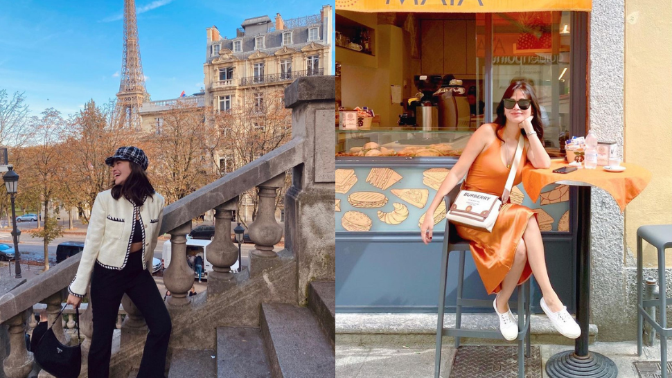 All The Expensive And Stylish Designer Bags Bela Padilla Wore Across Europe