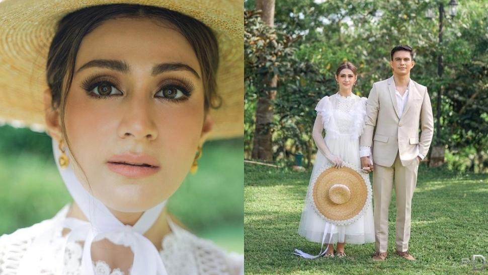 Carla Abellana Looks Like A Living Doll In Her Charming Prenup Shoot