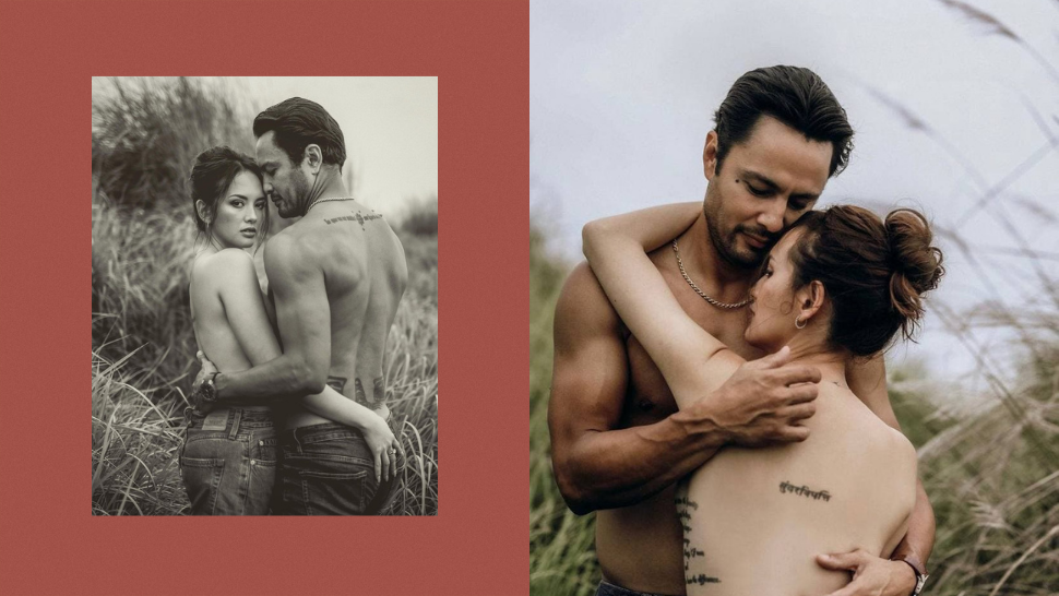 Ellen Adarna And Derek Ramsay's Sultry Back Tattoos Will Convince You To Get Inked