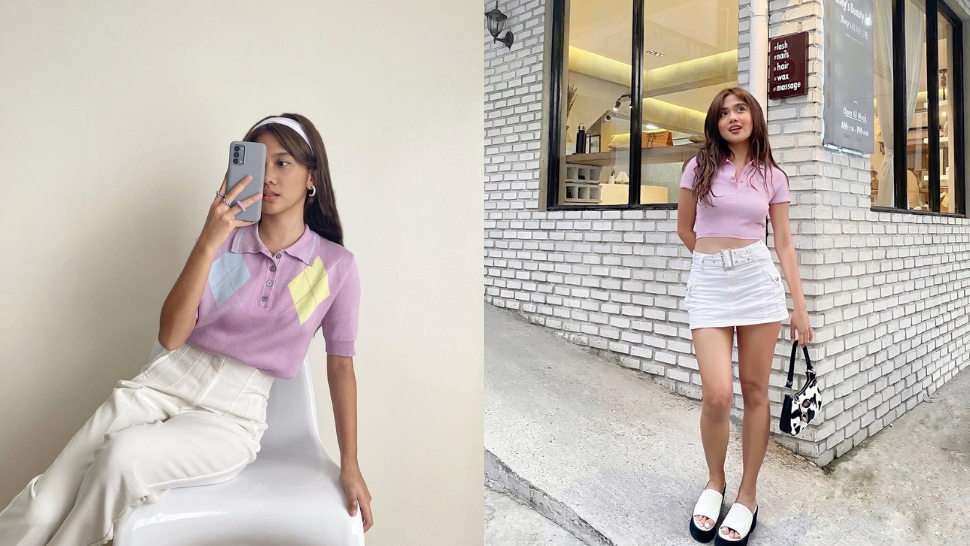 10 Adorable Pastel Outfits We're Totally Stealing From Ashley Garcia