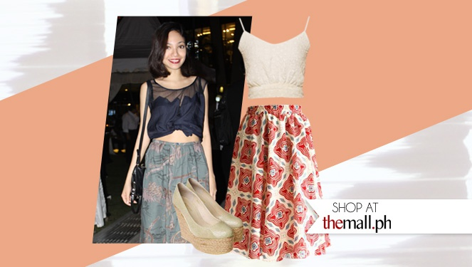 Shop Her Style: Alyssa Lapid At The Mango Show