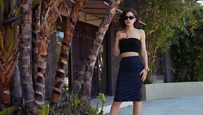 Blogger Look Of The Day: Karla Deras