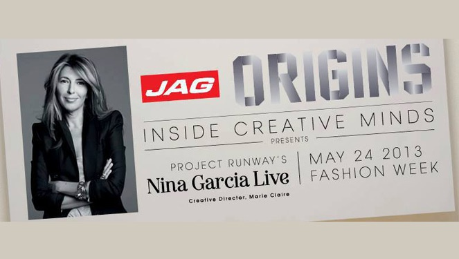 Jag Origins Presents Nina Garcia