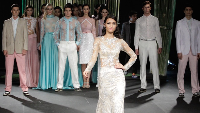 Philippine Fashion Week Holiday 2013