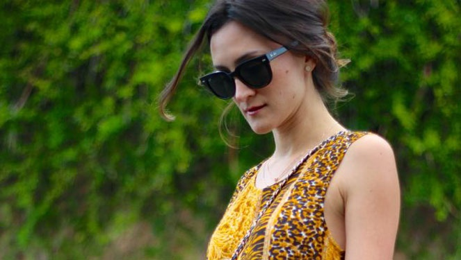 Blogger Look Of The Day: Nicole Levine