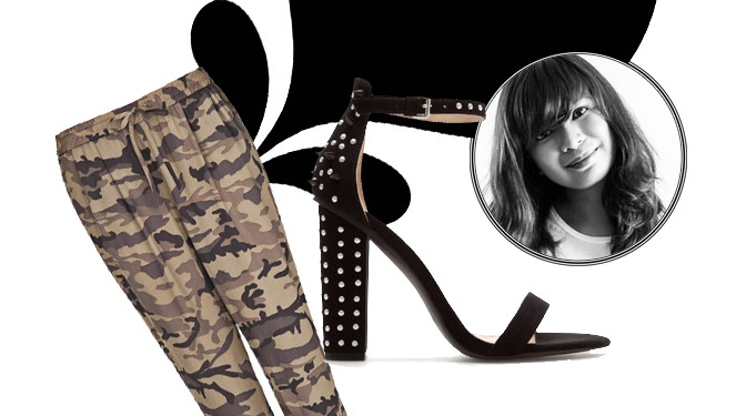 Ask An Editor: How To Wear Camo & Studs At Work