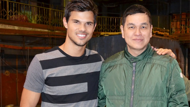 Taylor Lautner Is The New Global Benchsetter