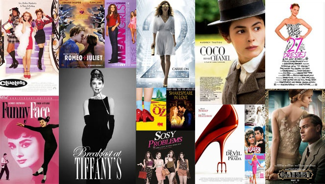 18 Must-watch Fashionable Movies