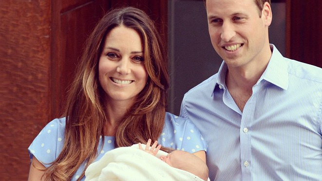 New Mom Kate Middleton