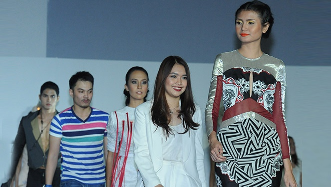 Fashion Institute Of The Philippines: Graduation And Alumni Show 2013 Part 1