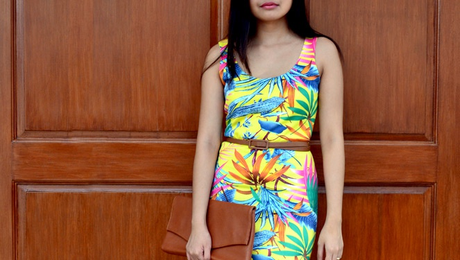 Blogger Challenge: Tropical Prints