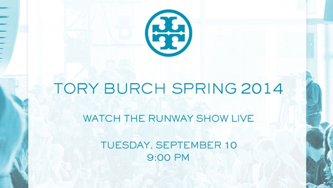 Watch Live: Tory Burch Spring/summer 2014