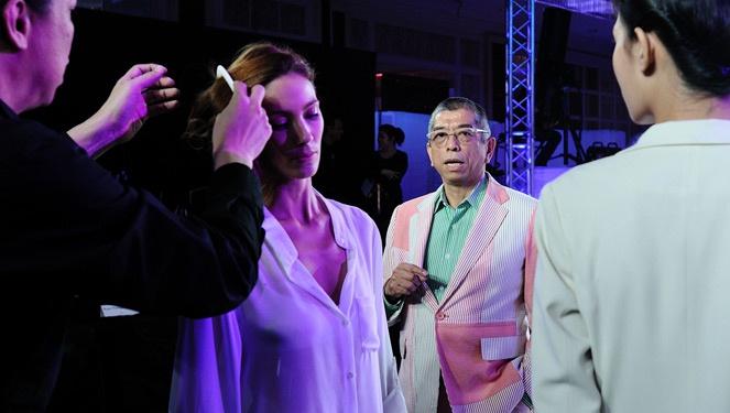 Style Bible Exclusive: Backstage With Tadashi Shoji