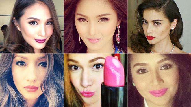 Celebrity Lipstick Id