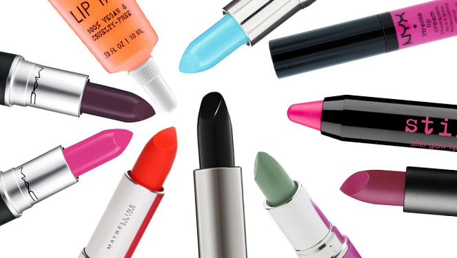 Lipstick Special: Top 10 Outrageous Shades