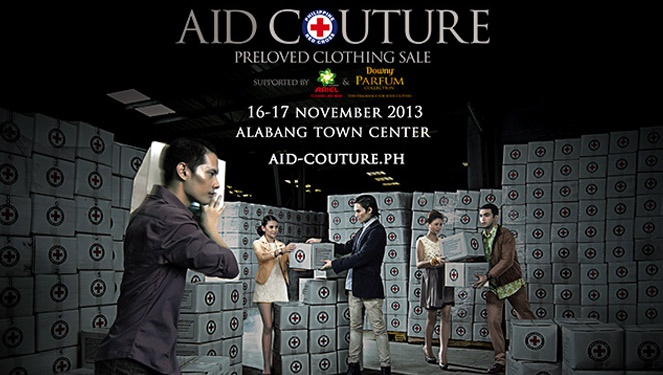 Red Cross Aid Couture: A Preloved Clothing Sale
