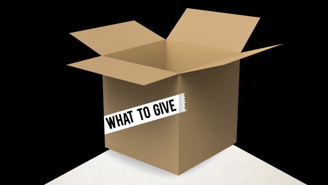 What To Give: Relief Goods
