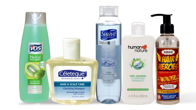 5 Shampoos For Hair Detox
